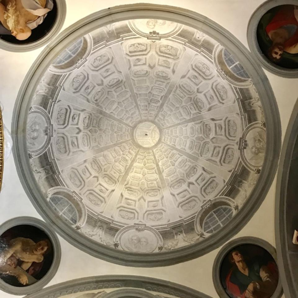 Cupola dopo il restaurow