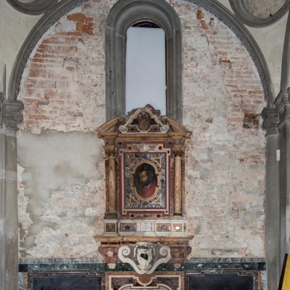 Santa Felicita Cappella Capponi Parete senza l'Annunciazionew