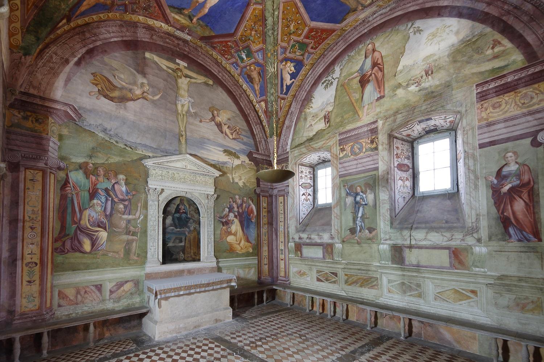 Cappella dell'Assunta, Duomo Spoleto