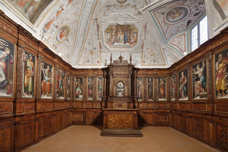 Cappella delle reliquie, Duomo Spoleto