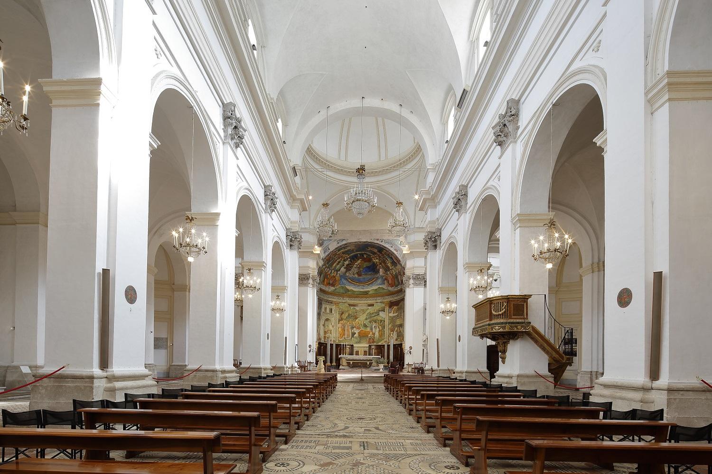 Duomo Spoleto, interno