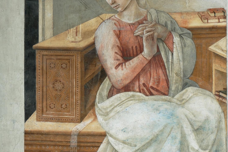 Filippo Lippi, Vergine Annunciata
