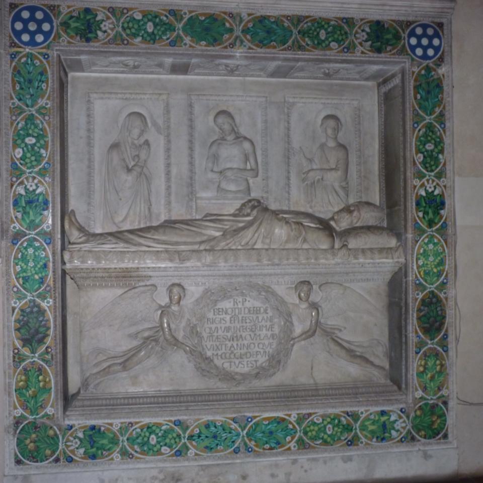 L. Della Robbia, Monumento Federighi (2)
