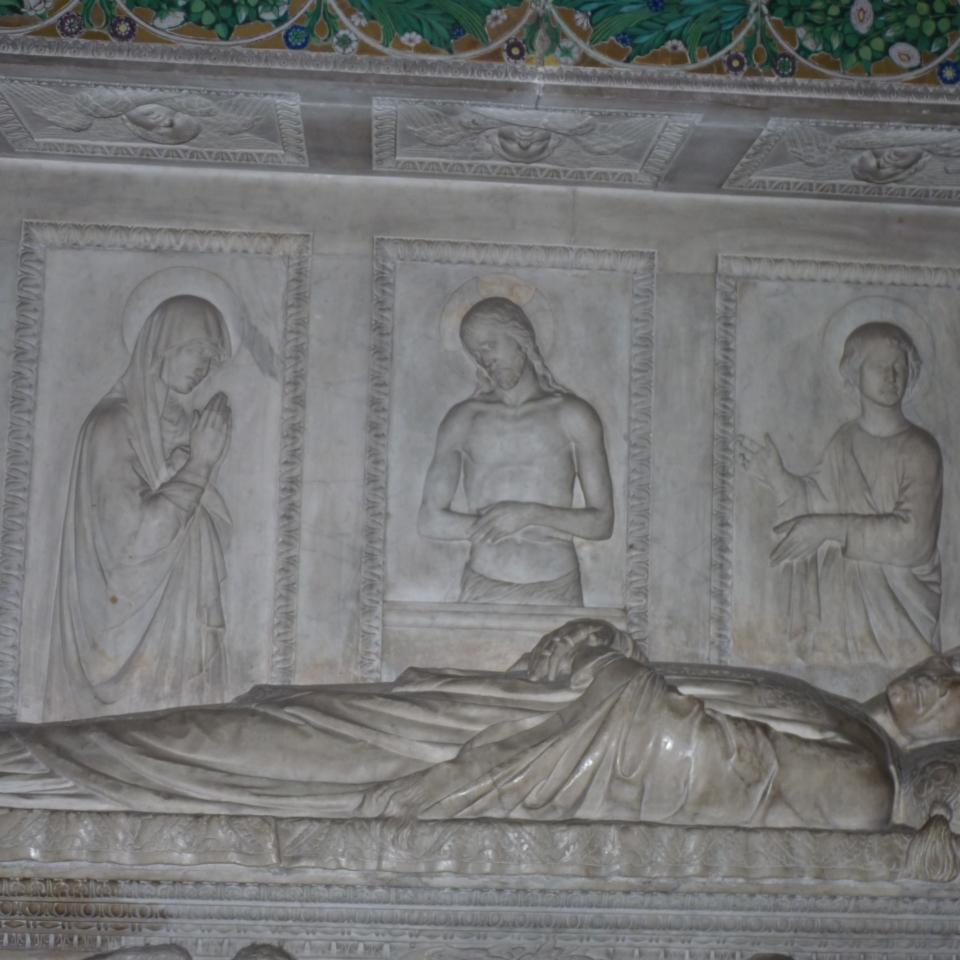 L. Della Robbia, Monumento Federighi (6)