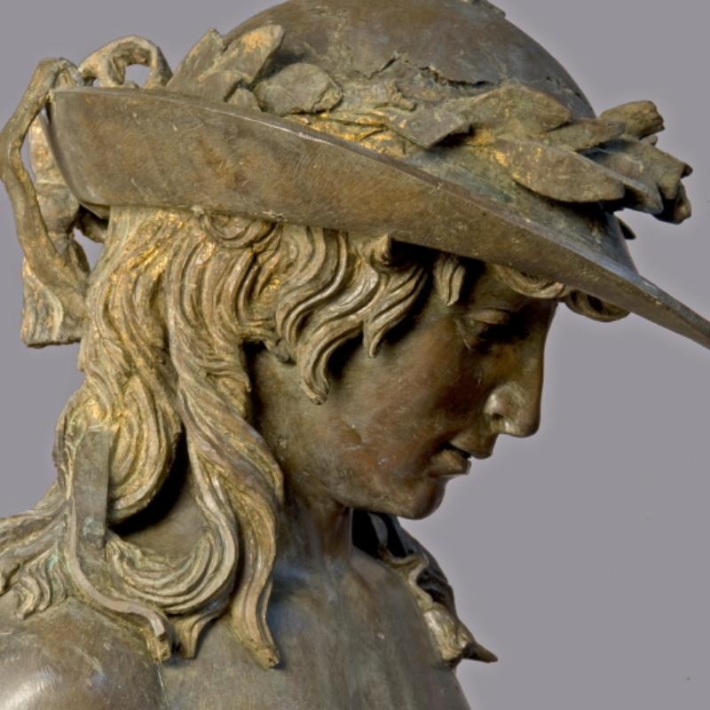 Donatello, David, Firenze, Museo Nazionale del Bargello – ph. A. Quattronew