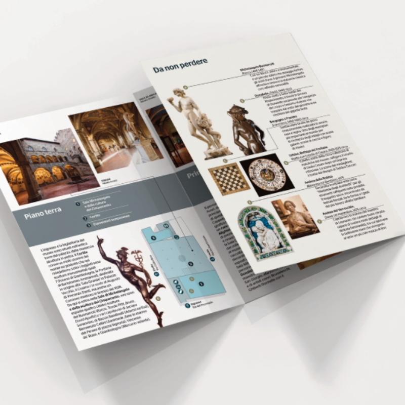Le nuove brochure dei Musei del Bargellow