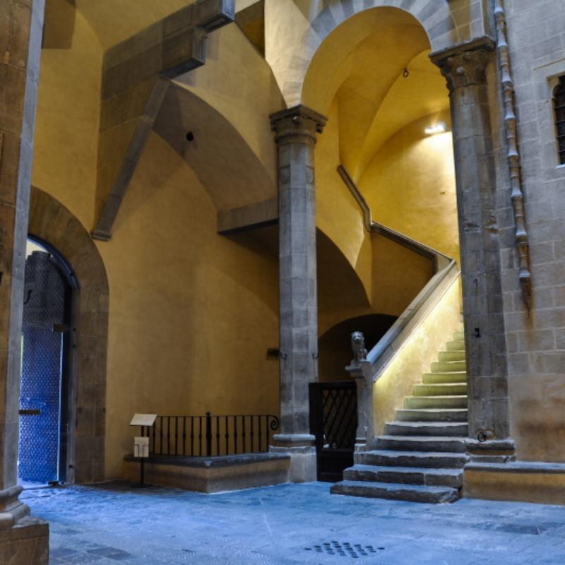 Palazzo Davanzati, il cortile – ph. F. Nocitow