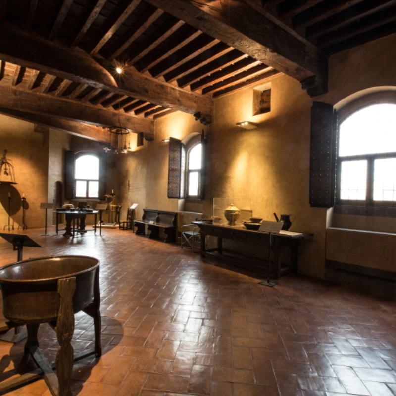 Palazzo Davanzati, la cucina – ph. F. Nocitow