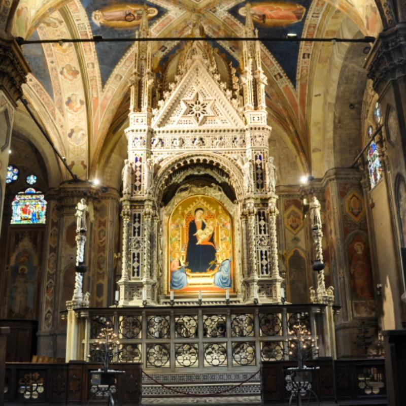 Tabernacolo dell'Orcagna, Firenze, Orsanmichele – ph. F. Nocitow