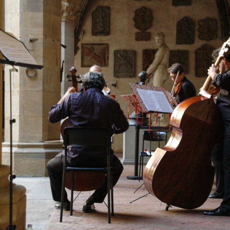 Un concerto al Museo Nazionale del Bargello, Firenze – ph. F. Nocitow