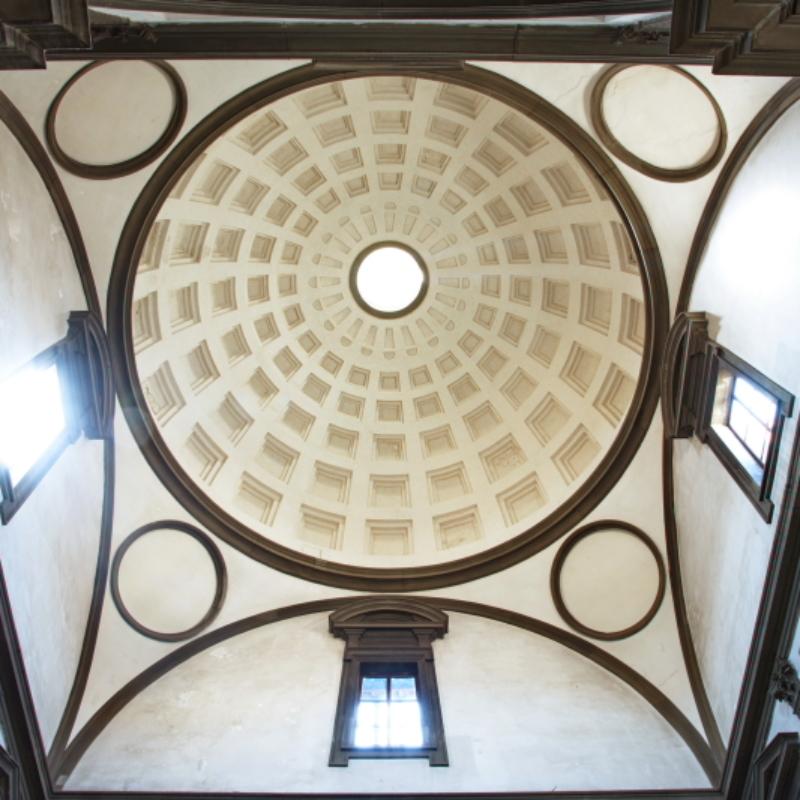 Volta della Sagrestia Nuova – Firenze, Cappelle Medicee – ph. Villa I Tattiw