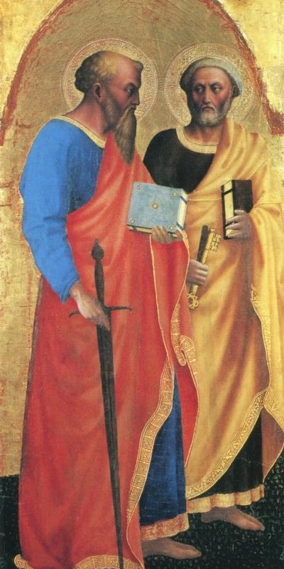 San Pietro e san Paolo w