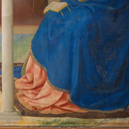 3. Dettaglio del manto della Vergine prima del restauro_PP