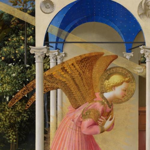 6. Dettaglio dell'Angelo e della volta dopo il restauro_PP