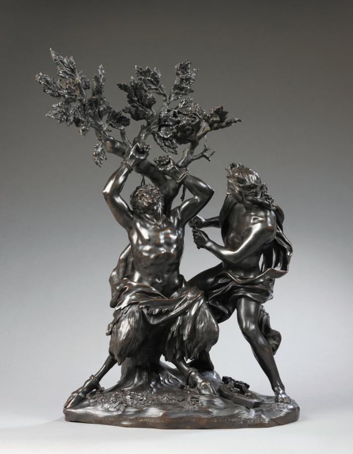 Fig. 11 Giovan Battista Foggini Apollo e Marsia ante 1716 bronzo patinato Victoria & Albert Museum, Londra