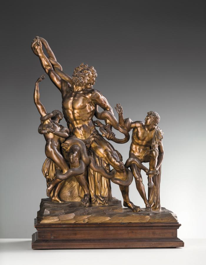 Fig. 19 Giovacchino Fortini fuso da Andrea Fortini Laocoonte 1720 bronzo con tracce di patina Museo di Casa Martelli, Firenze