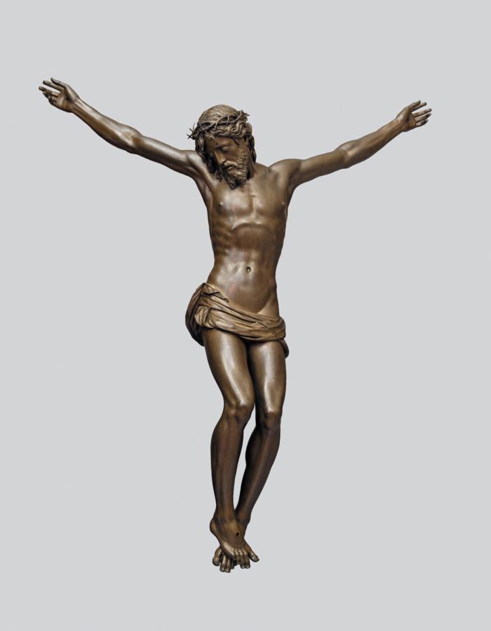 Fig. 4 Giambologna Crocifisso 1598 bronzo Basilica della Santissima Annunziata, Firenze