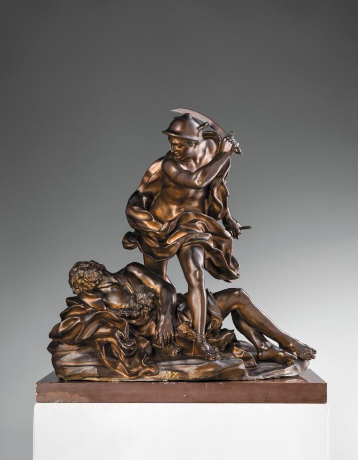 Fig. 5 Giovan Battista Foggini Mercurio e Argo 1695-1700 circa bronzo patinato Museo Nazionale del Bargello, Firenze