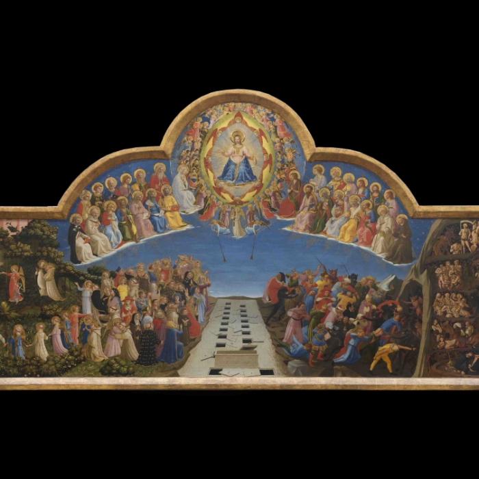 1b_Beato Angelico, Giudizio Universale, dopo il restauro_s