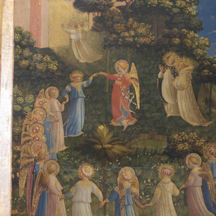 2a_Beato Angelico, Giudizio Universale, particolare prima del restauro_s