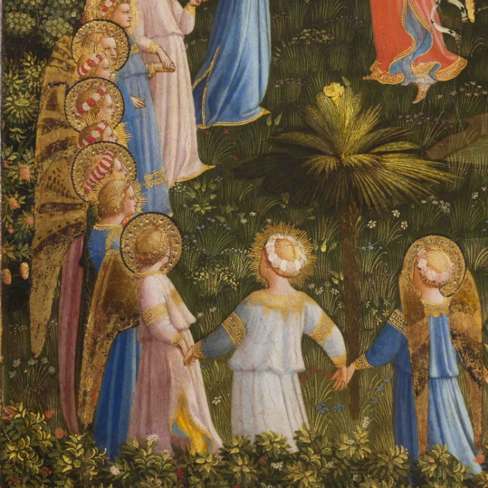 2b_Beato Angelico, Giudizio Universale, particolare dopo il restauro_s