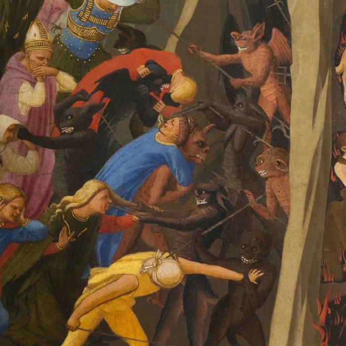 3b_Beato Angelico, Giudizio Universale, particolare dopo il restauro_s