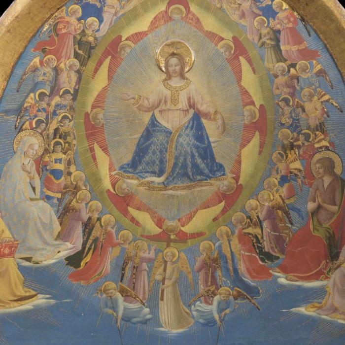 4a_Beato Angelico, Giudizio Universale, particolare prima del restauro_s