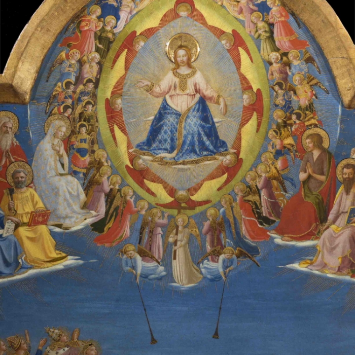 4b_Beato Angelico, Giudizio Universale, particolare dopo il restauro_s