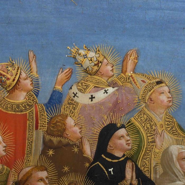 6_Beato Angelico, Giudizio Universale, particolare dopo il restauro_s