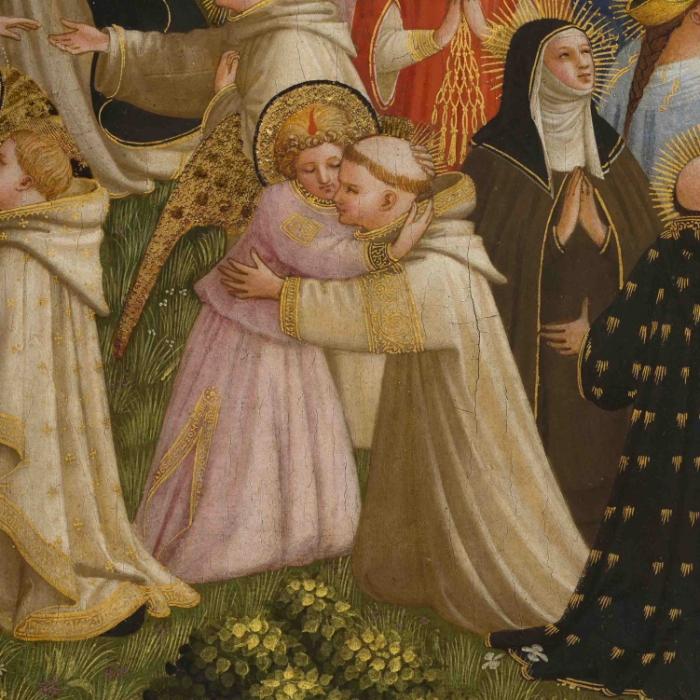 7_Beato Angelico, Giudizio Universale, particolare dopo il restauro_s