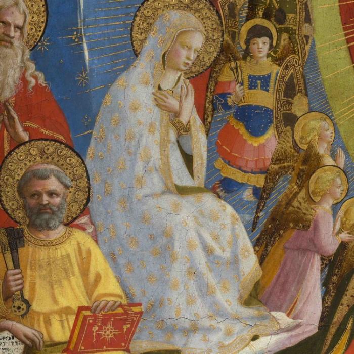 8_Beato Angelico, Giudizio Universale, particolare dopo il restauro_s