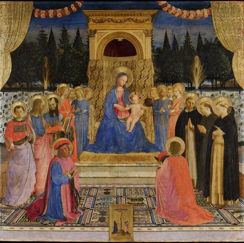 Beato Angelico, Pala di San Marco, dopo il restauro